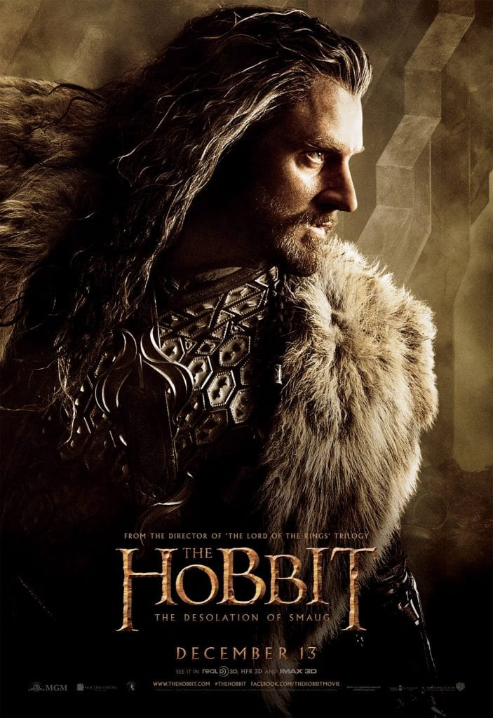 the hobbit the triology high quality HD printable wallpapers poster thorin