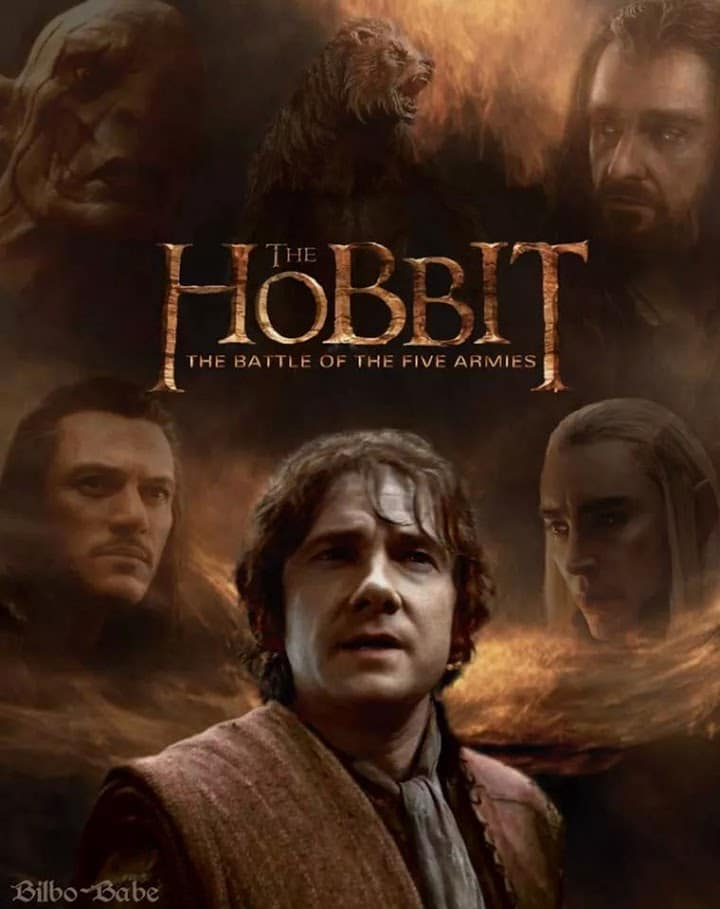 the hobbit the triology high quality HD printable wallpapers poster bilbo baggins