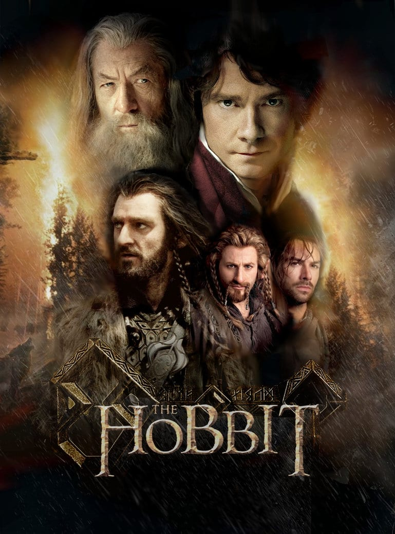 the hobbit the triology high quality HD printable wallpapers poster all main characters