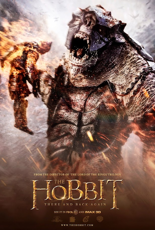 the hobbit the triology high quality HD printable wallpapers poster monster orc