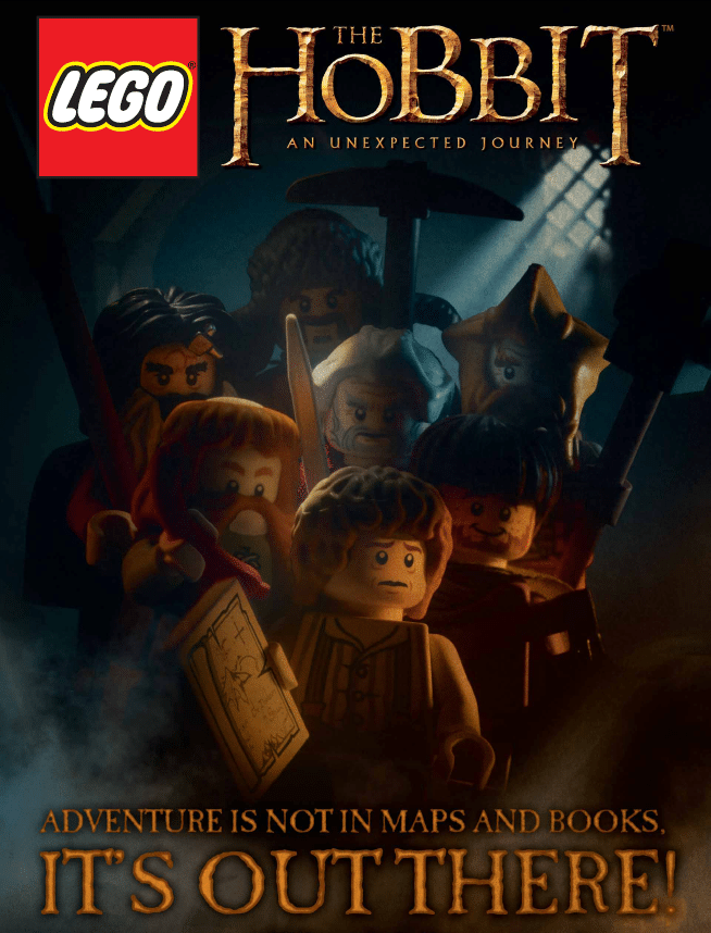 the hobbit the triology high quality HD printable wallpapers poster lego poster