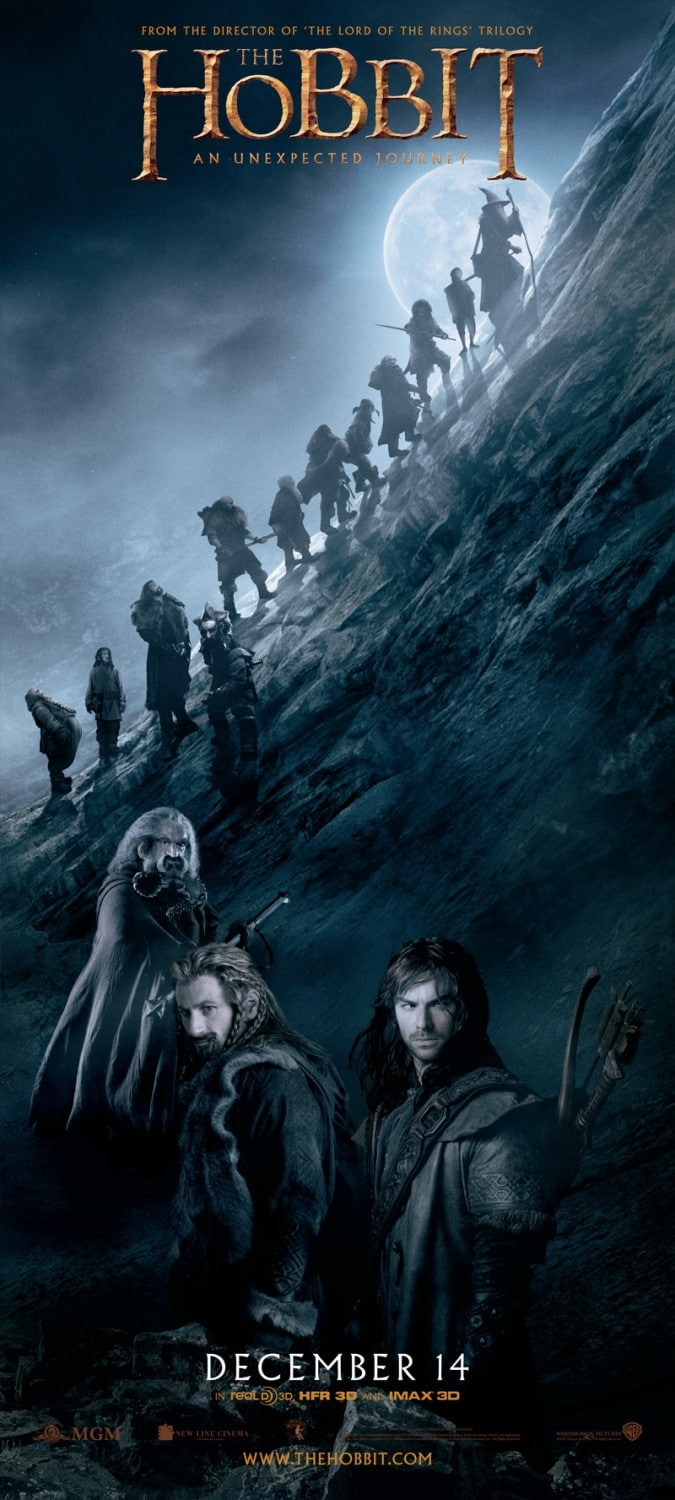 the hobbit the triology high quality HD printable wallpapers poster all characters journey