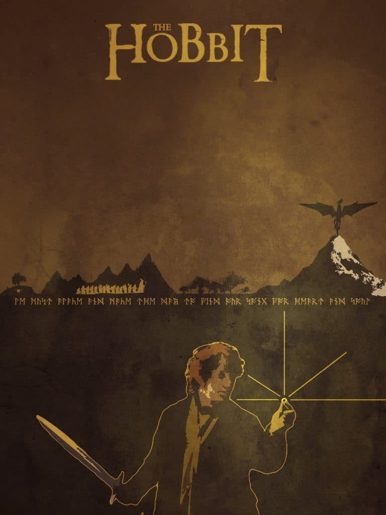 the hobbit the triology high quality HD printable wallpapers poster animated art cartoon ring bilbo baggins