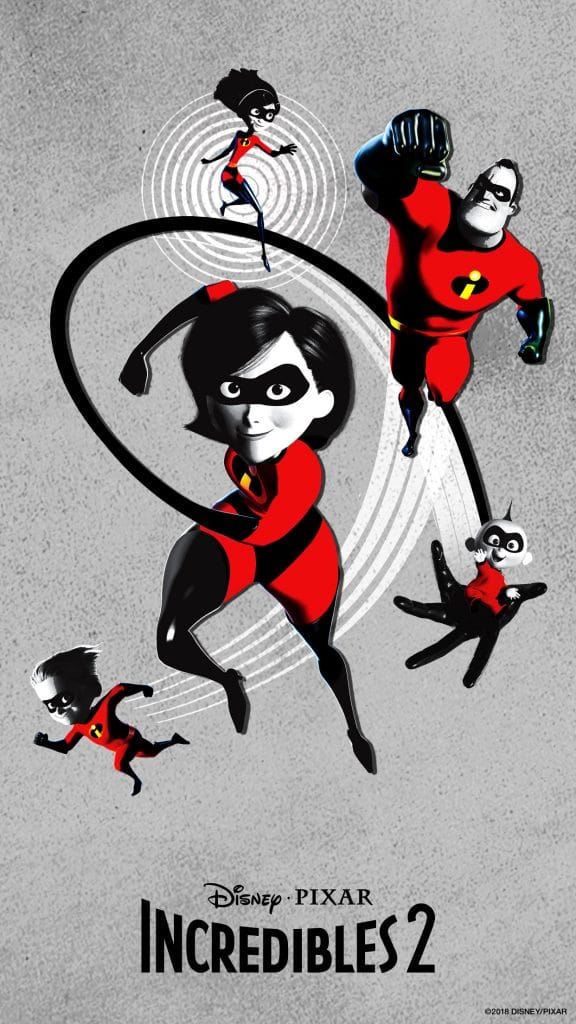the incredibles 2 poster high quality HD printable wallpapers full family in action
