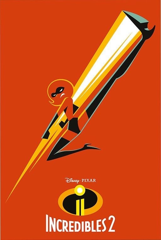 the incredibles 2 poster high quality HD printable wallpapers super mom elastigirl helen parr in action