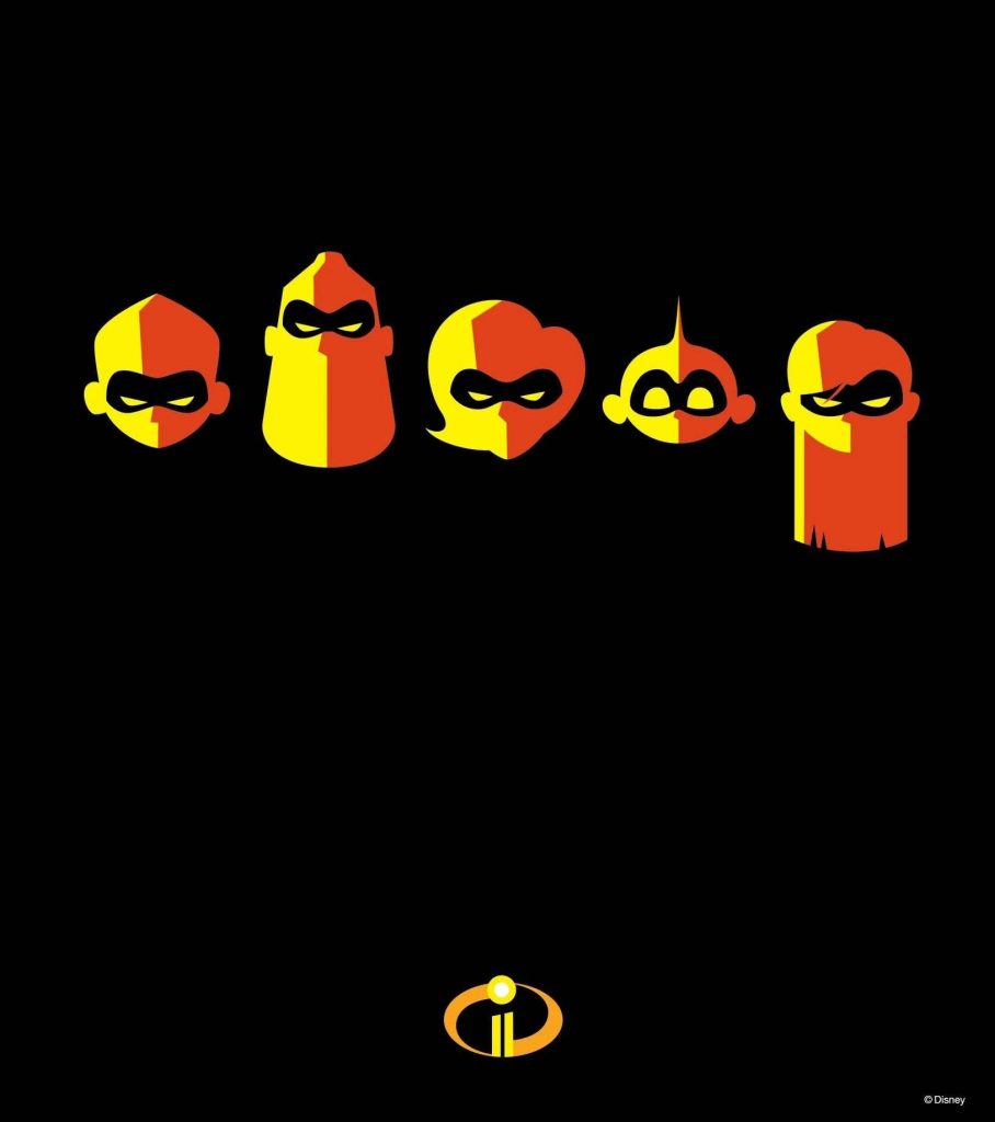 the incredibles 2 poster high quality HD printable wallpapers family logo
