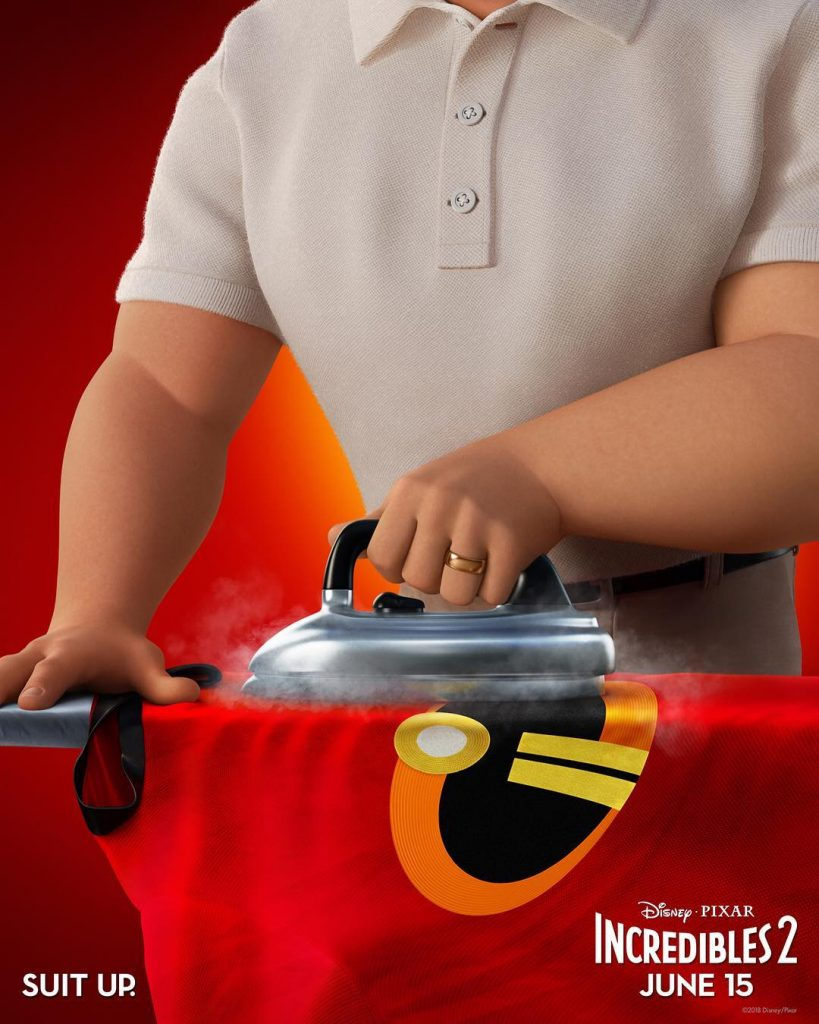 the incredibles 2 poster high quality HD printable wallpapers bob parr iron the suit