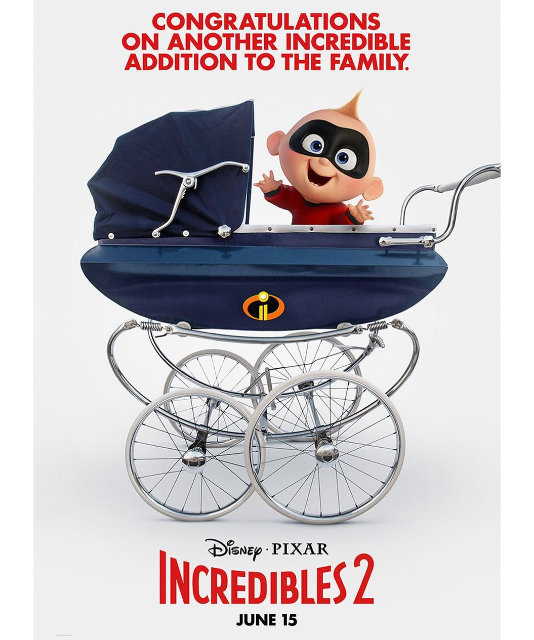 the incredibles 2 poster high quality HD printable wallpapers jack jack in super baby trolly