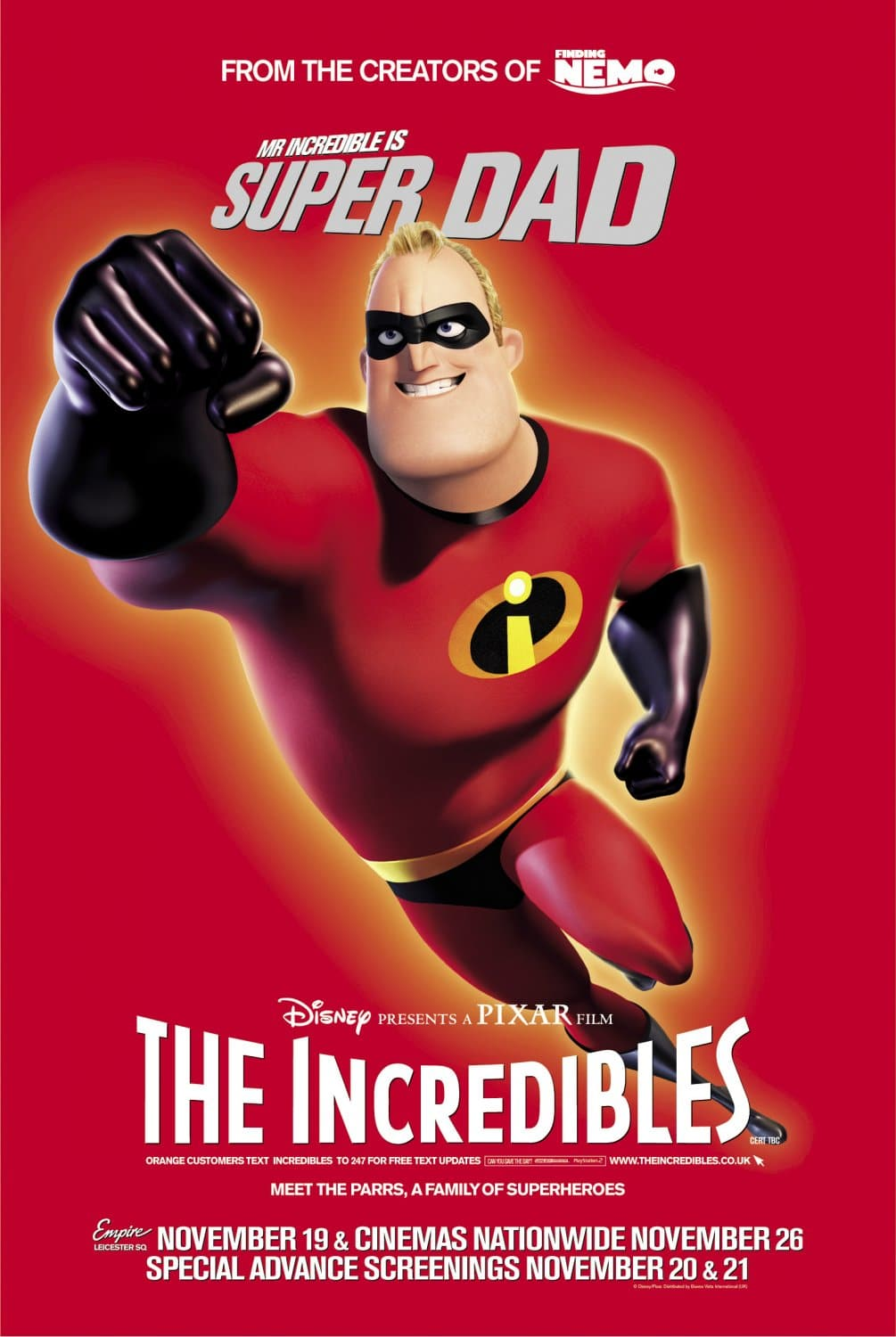 the incredibles poster high quality HD printable wallpapers mr incredible official poster