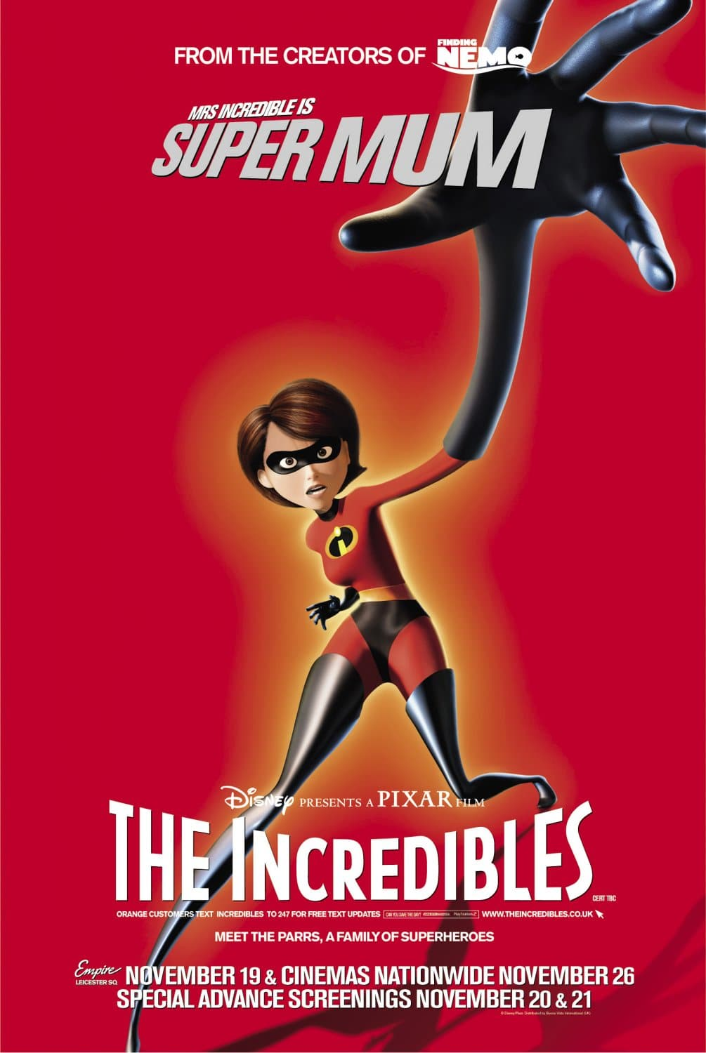 the incredibles poster high quality HD printable wallpapers mrs parr elastigirl in action
