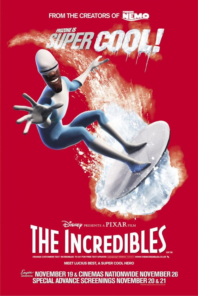 the incredibles poster high quality HD printable wallpapers frozone family friend