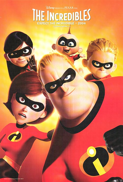 the incredibles poster high quality HD printable wallpapers full family together action moment