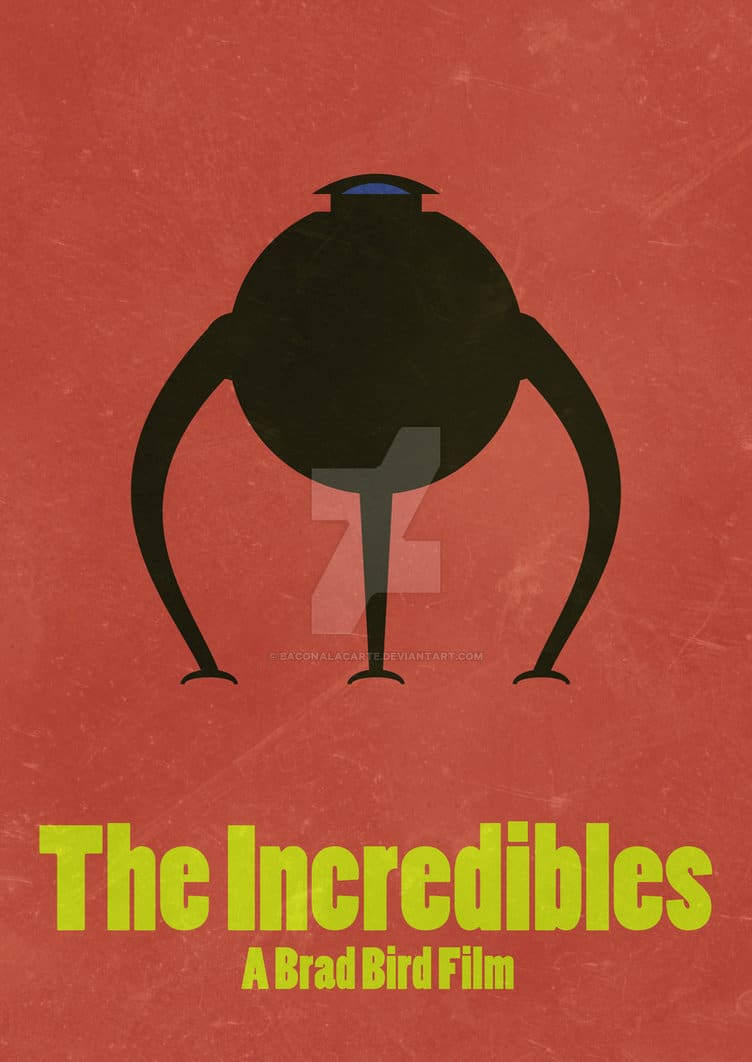 the incredibles poster high quality HD printable wallpapers omnibots omnidroid