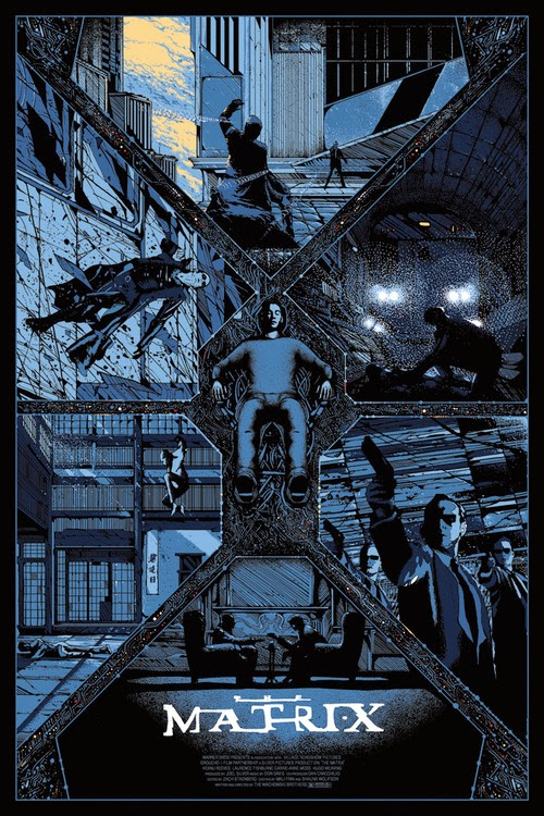 the matrix poster high quality HD printable wallpapers 1999 blue poster all characetrs