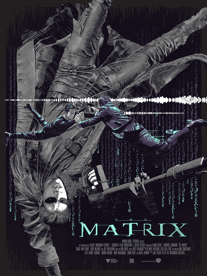 the matrix poster high quality HD printable wallpapers 1999 action black poster agent smith vs neo