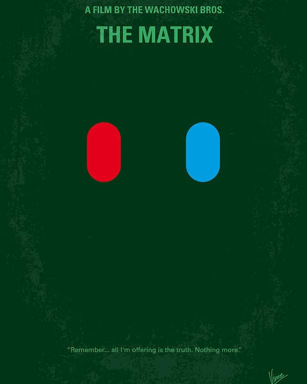 the matrix poster high quality HD printable wallpapers 1999 blue and red pill