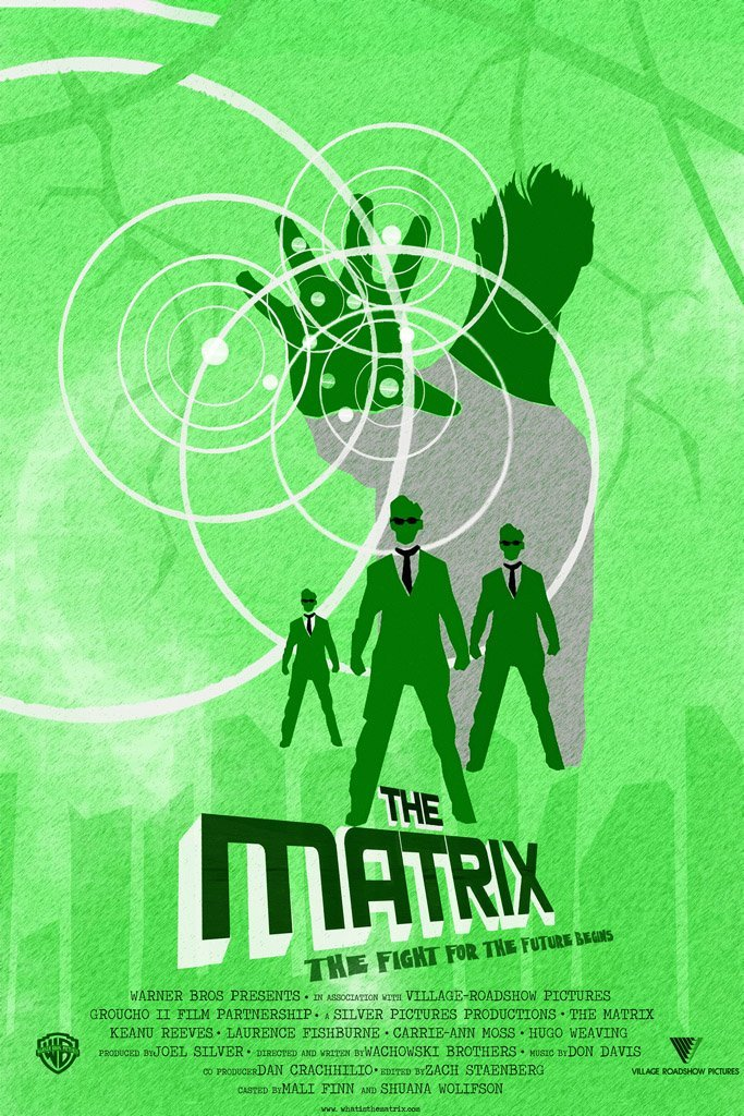 the matrix poster high quality HD printable wallpapers 1999 green poster neo with powers and agent smith