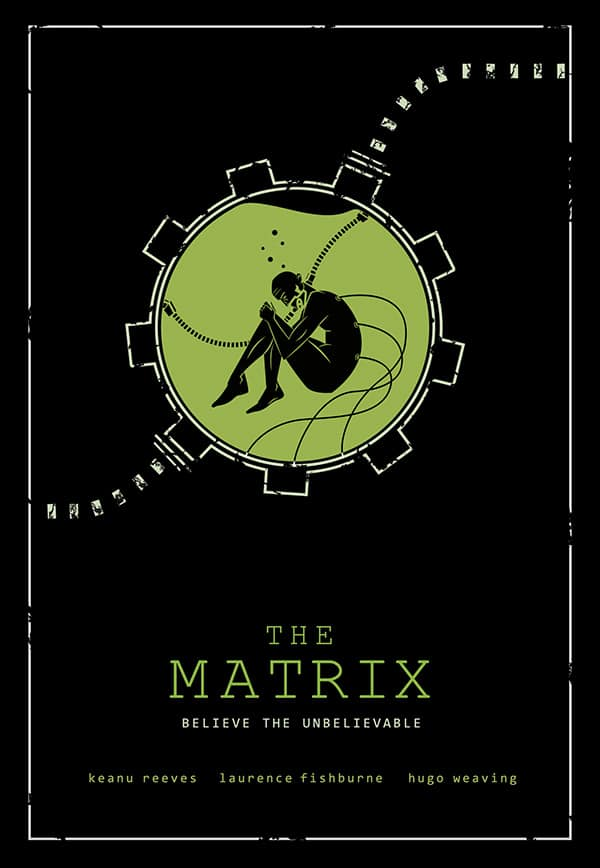 the matrix poster high quality HD printable wallpapers 1999 man in machine matrix