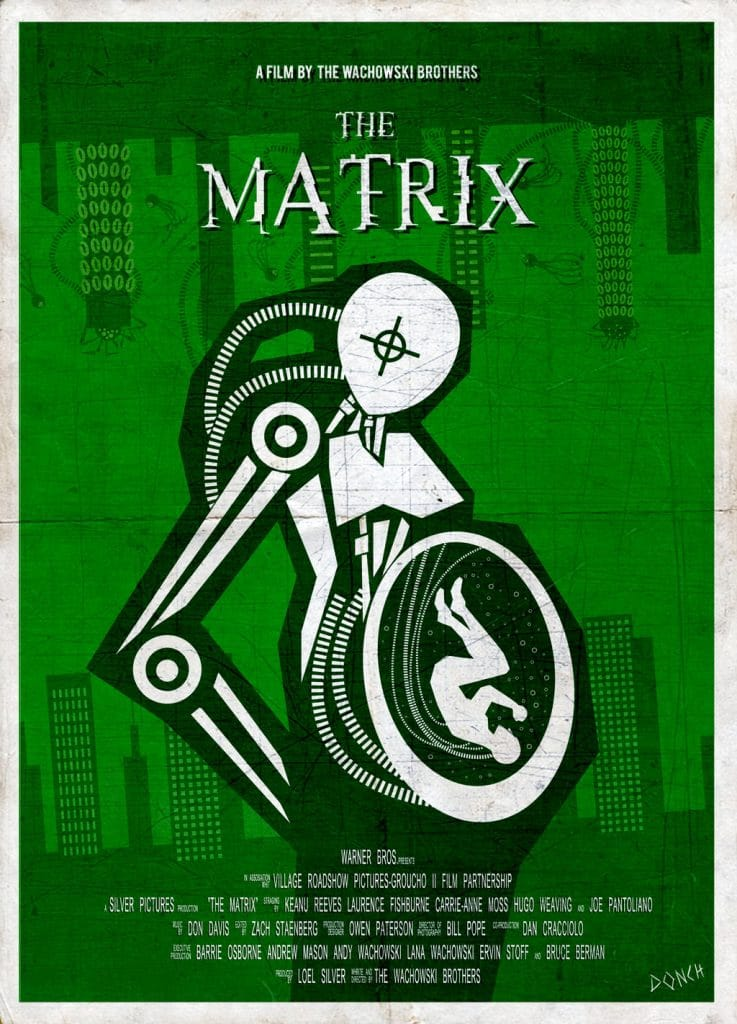 the matrix poster high quality HD printable wallpapers 1999 man in machine