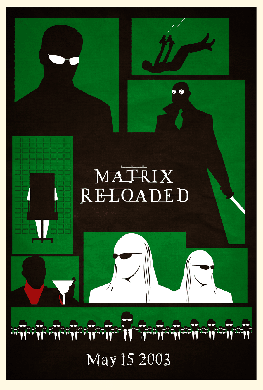 the matrix poster high quality HD printable wallpapers the matrix reloaded 2003 all characters comic style poster