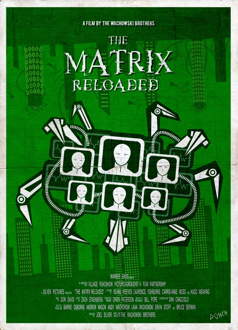 The Matrix Poster: 40+ Amazing And Printable Posters ...
