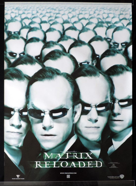 the matrix poster high quality HD printable wallpapers the matrix reloaded 2003 agent smith and clones