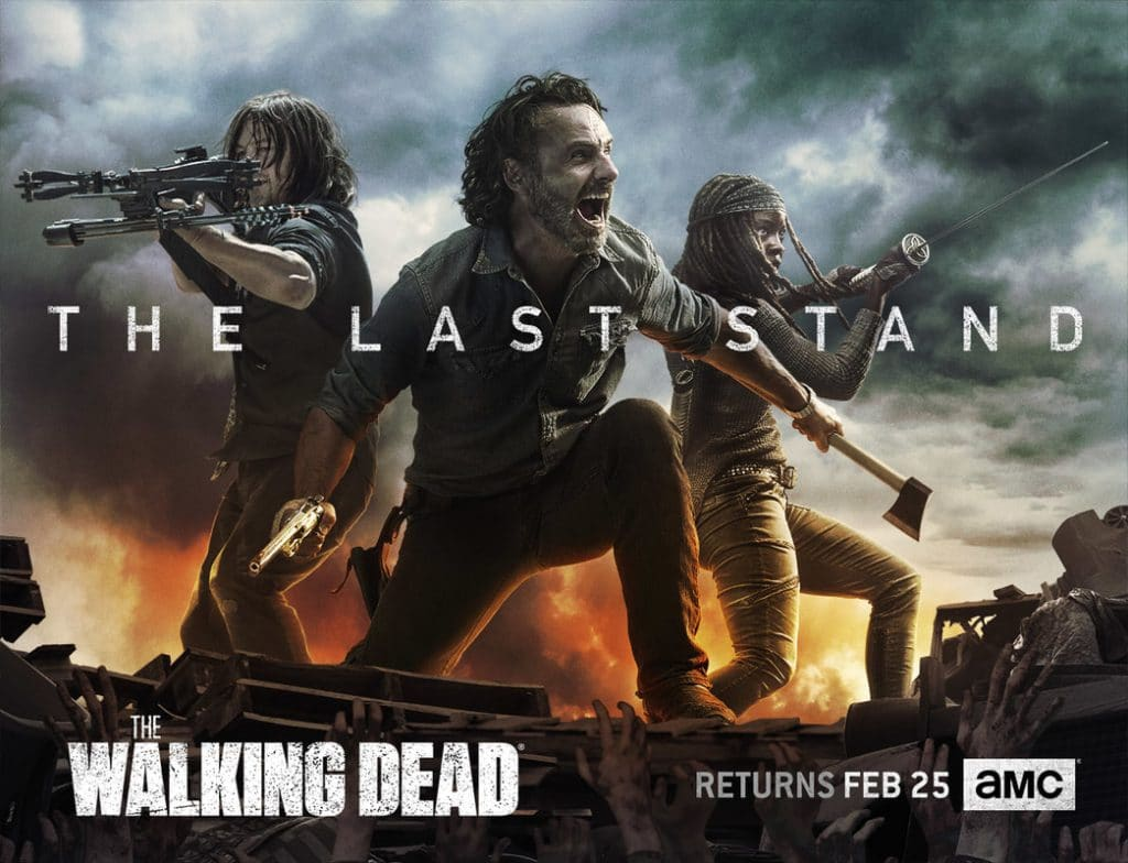 The Last Stand - The Walking Dead Poster