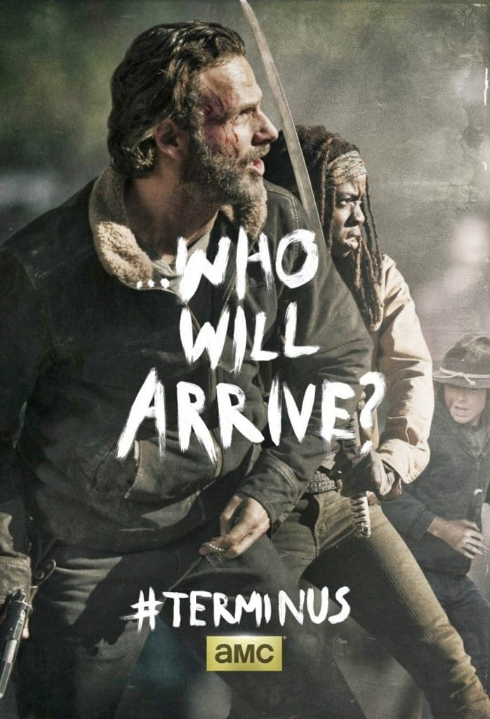 Who will Arrive - The Walking Dead posters