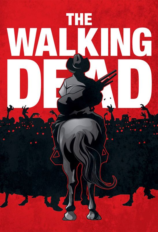 The Walking Dead poster Rick Grimes