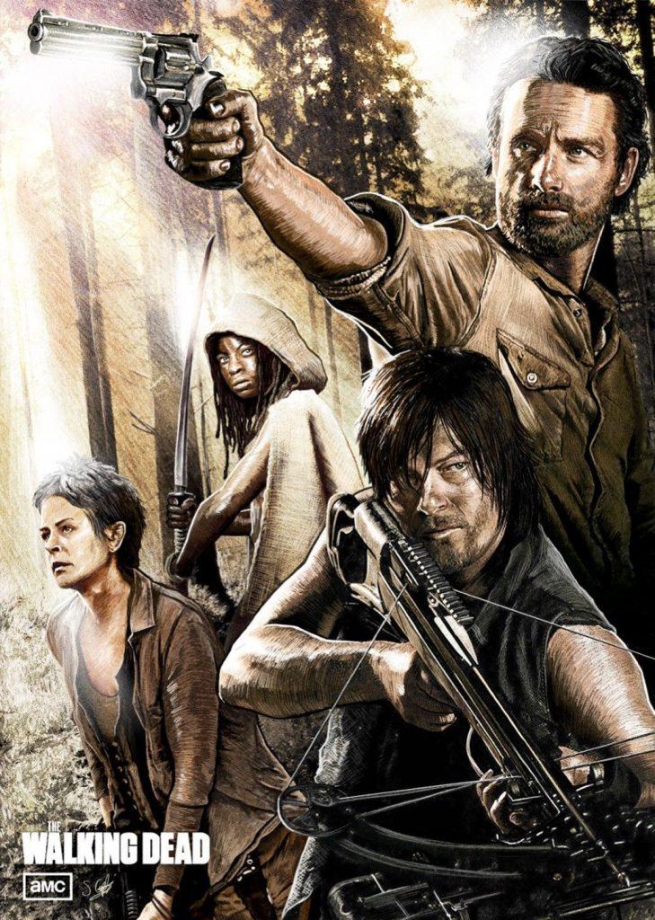 Fan made The Walking Dead poster