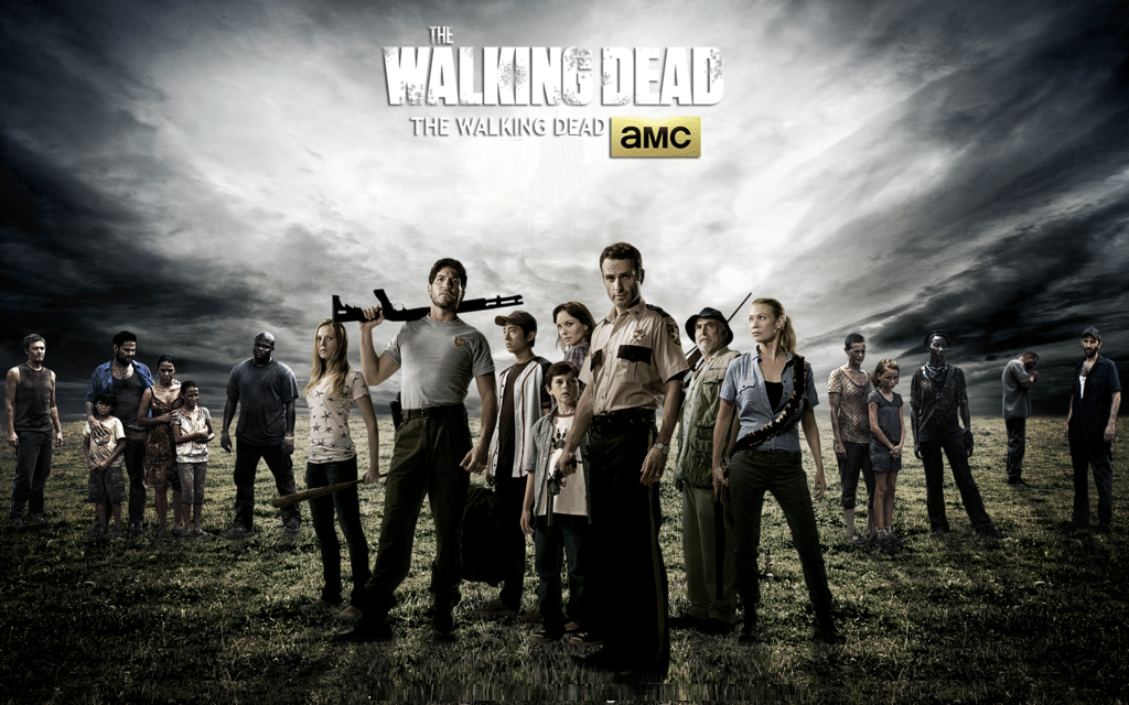 The Walking Dead mission poster