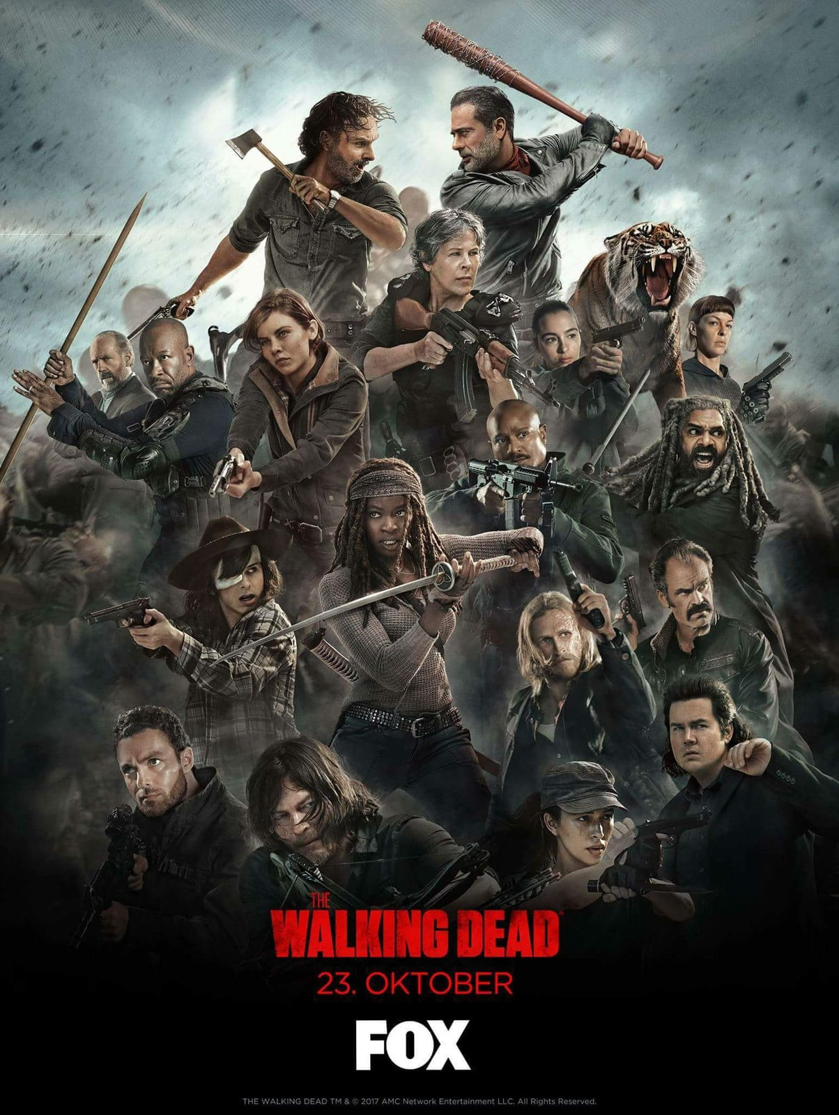 The Walking Dead Terminus poster