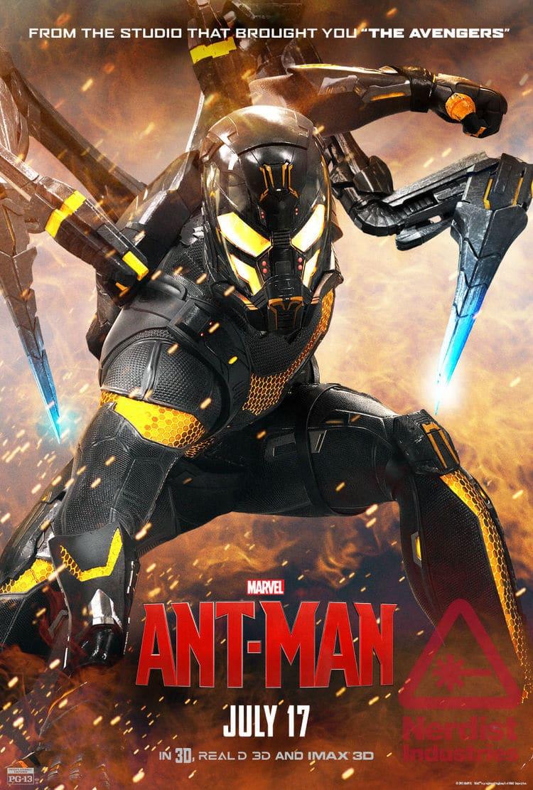 ant man poster high quality HD printable wallpapers 2015 yellowjacket main villain