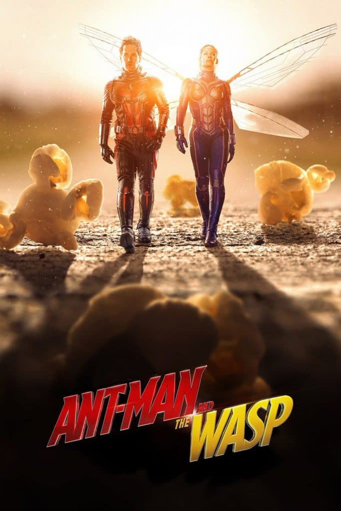 ant man poster high quality HD printable wallpapers ant man and the wasp 2018 scott lang and hope land together