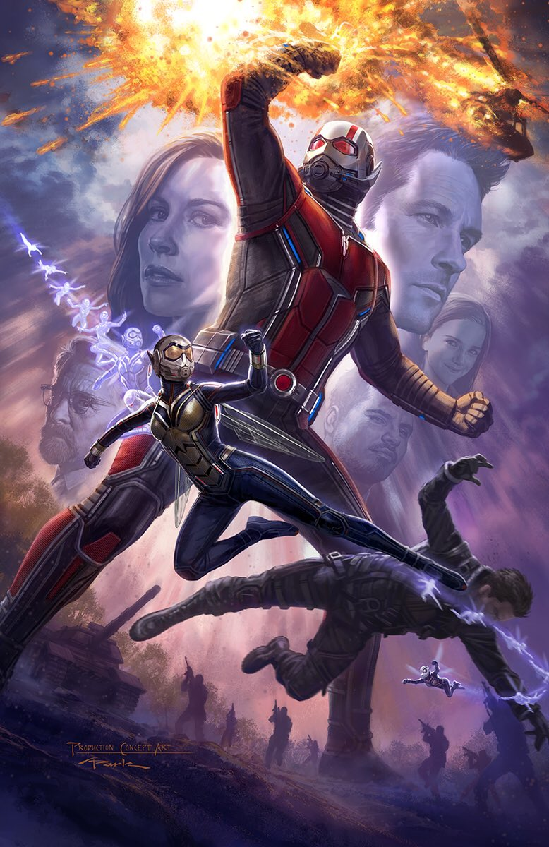 ant man poster high quality HD printable wallpapers ant man and the wasp 2018 animated art