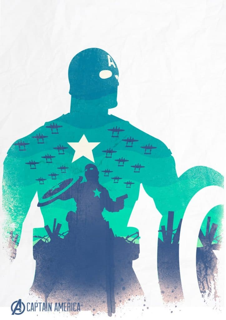 captain america poster high quality HD printable wallpapers 2011 the first avenger art cartoon animated
