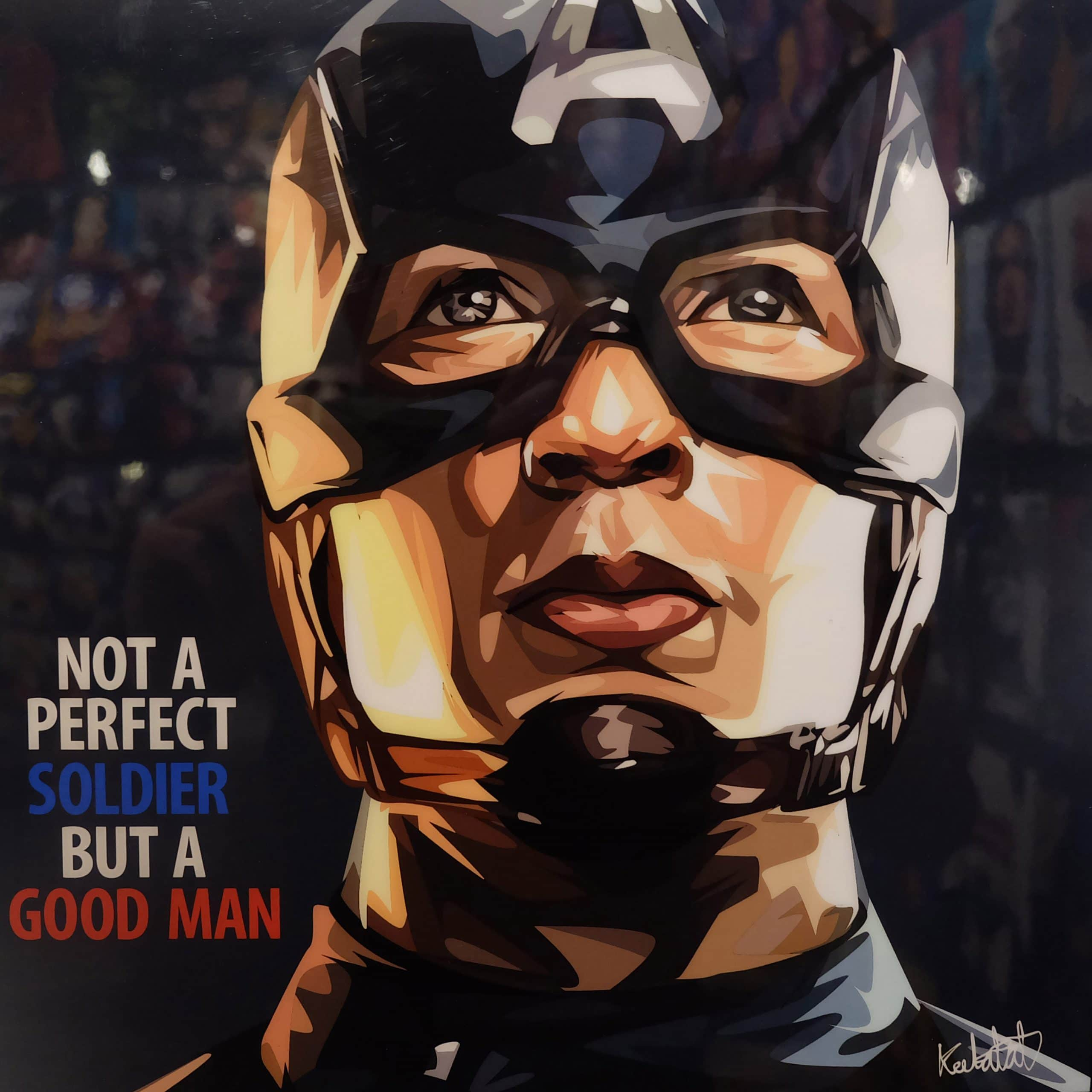 captain america poster high quality HD printable wallpapers 2011 the first avenger steve rogers face