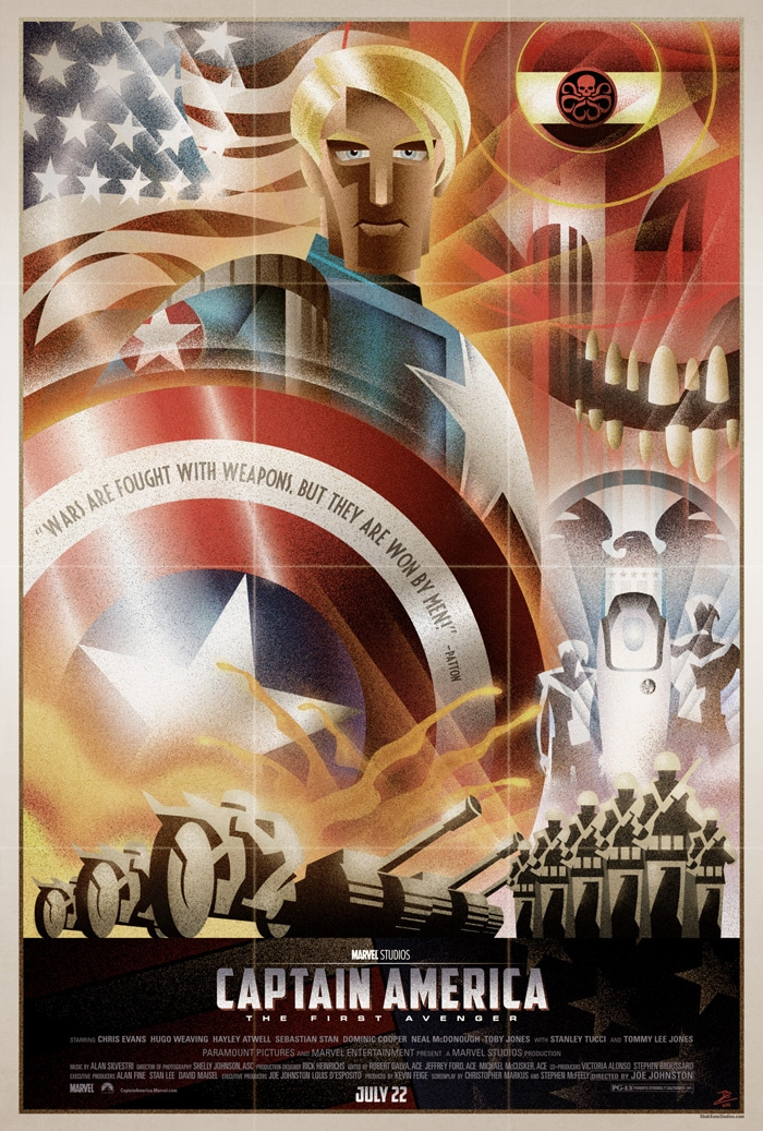 captain america poster high quality HD printable wallpapers art cartoon comic all characters