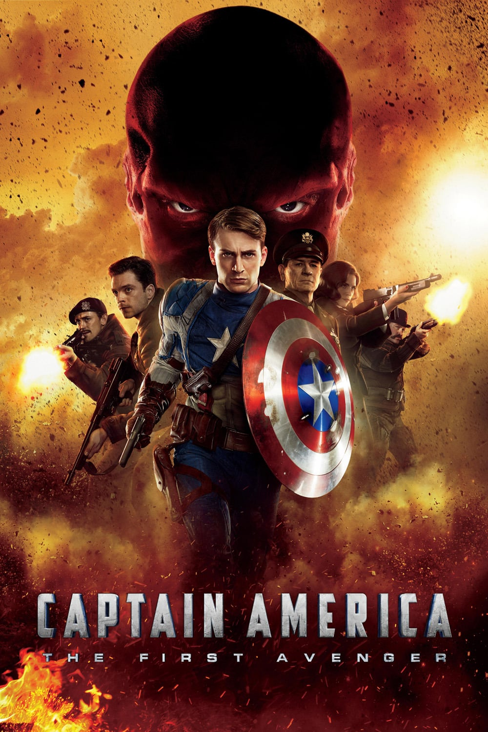 captain america poster high quality HD printable wallpapers 2011 the first avenger all characters bucky