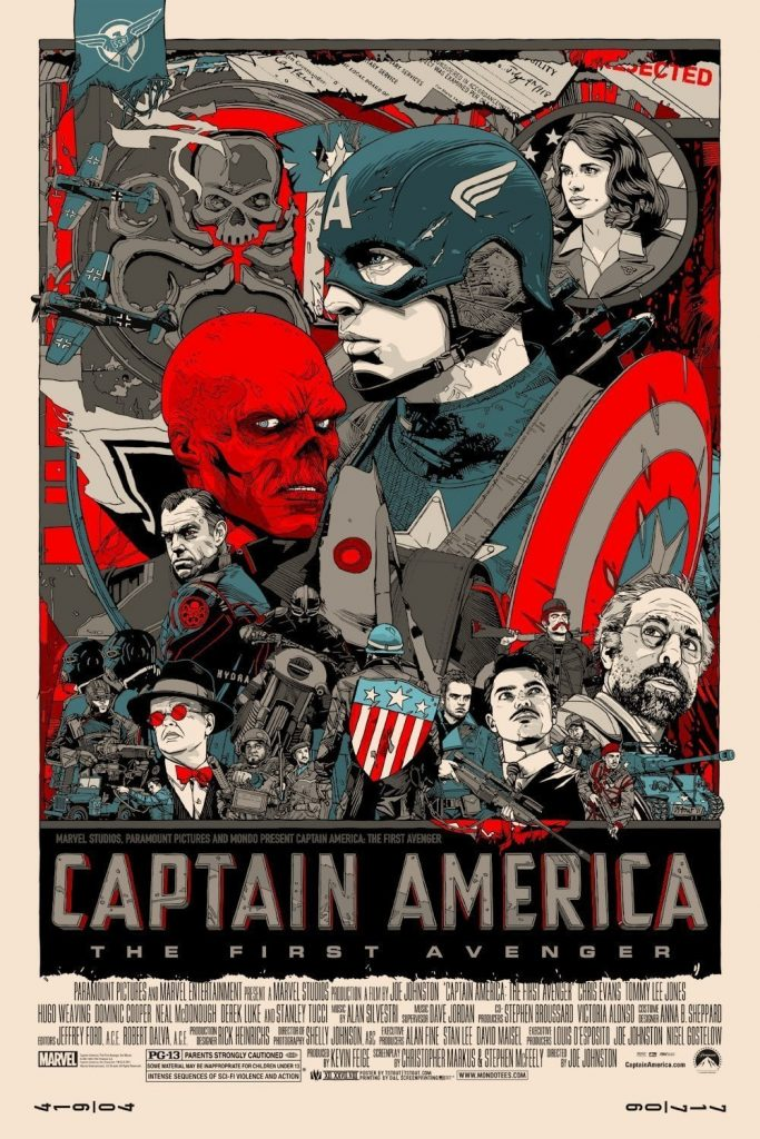 captain america poster high quality HD printable wallpapers retro classic all characters red skull 2011