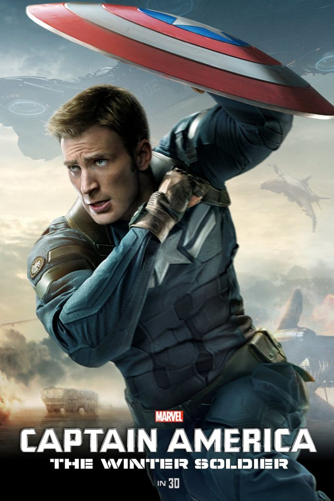 captain america poster high quality HD printable wallpapers 2014 the winter soldier steve rogers in action