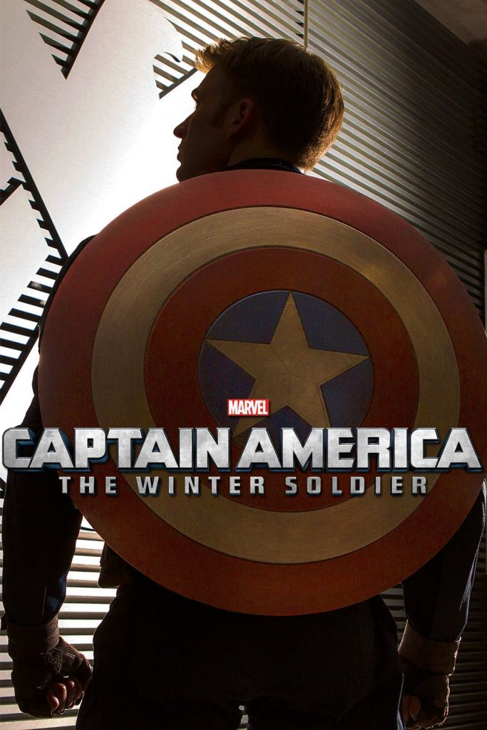 captain america poster high quality HD printable wallpapers 2014 the winter soldier captain's back