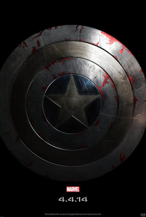 captain america poster high quality HD printable wallpapers 2014 the winter soldier shield