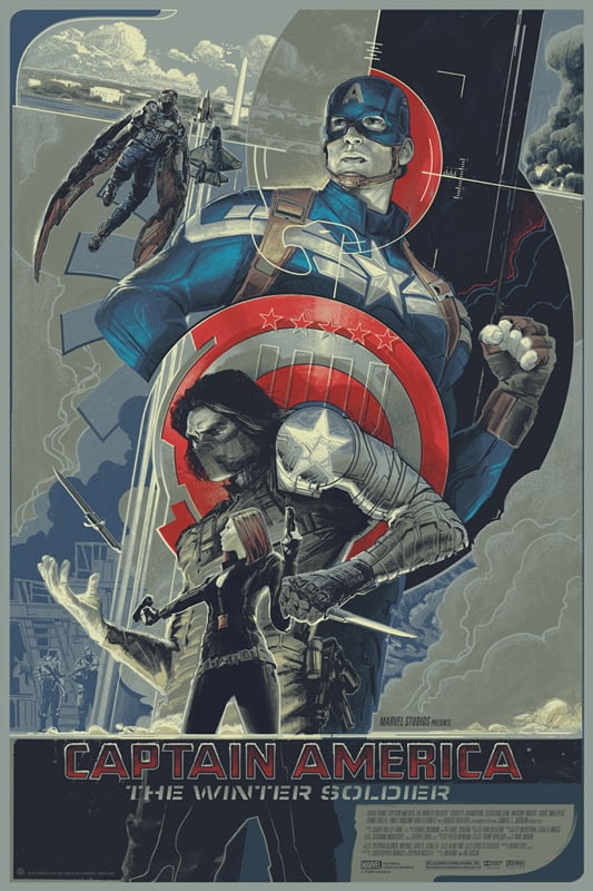captain america poster high quality HD printable wallpapers 2014 the winter soldier art cartoon animated sketch all characters
