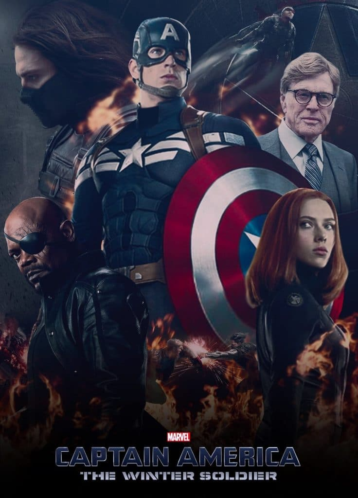 captain america poster high quality HD printable wallpapers 2014 the winter soldier all characters official poster