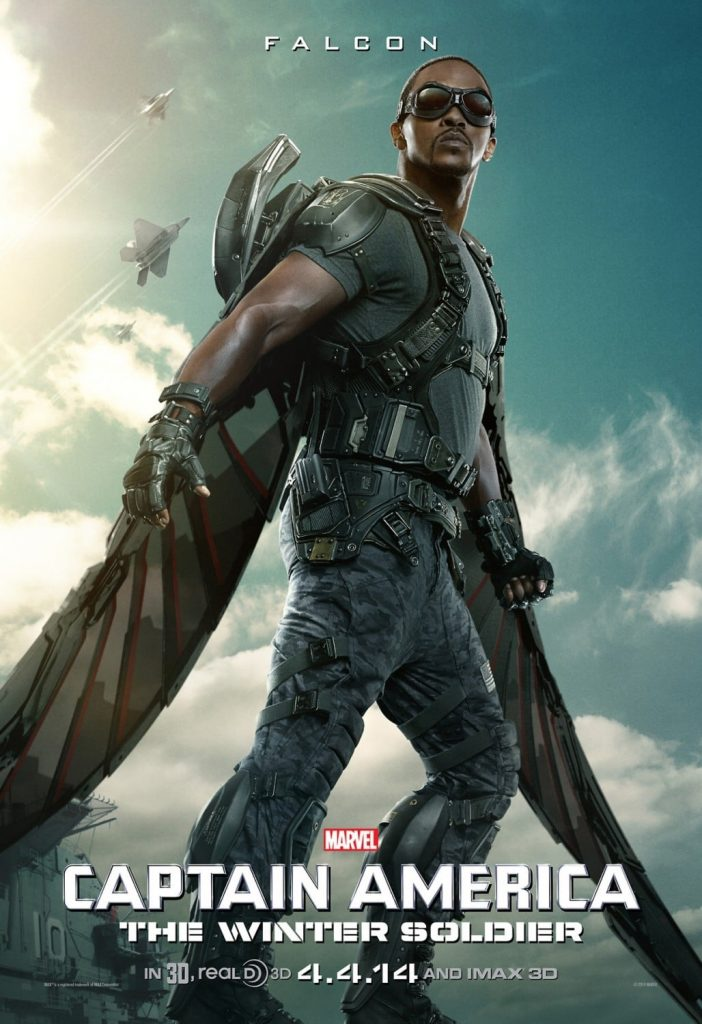 captain america poster high quality HD printable wallpapers 2014 the winter soldier falcon smith