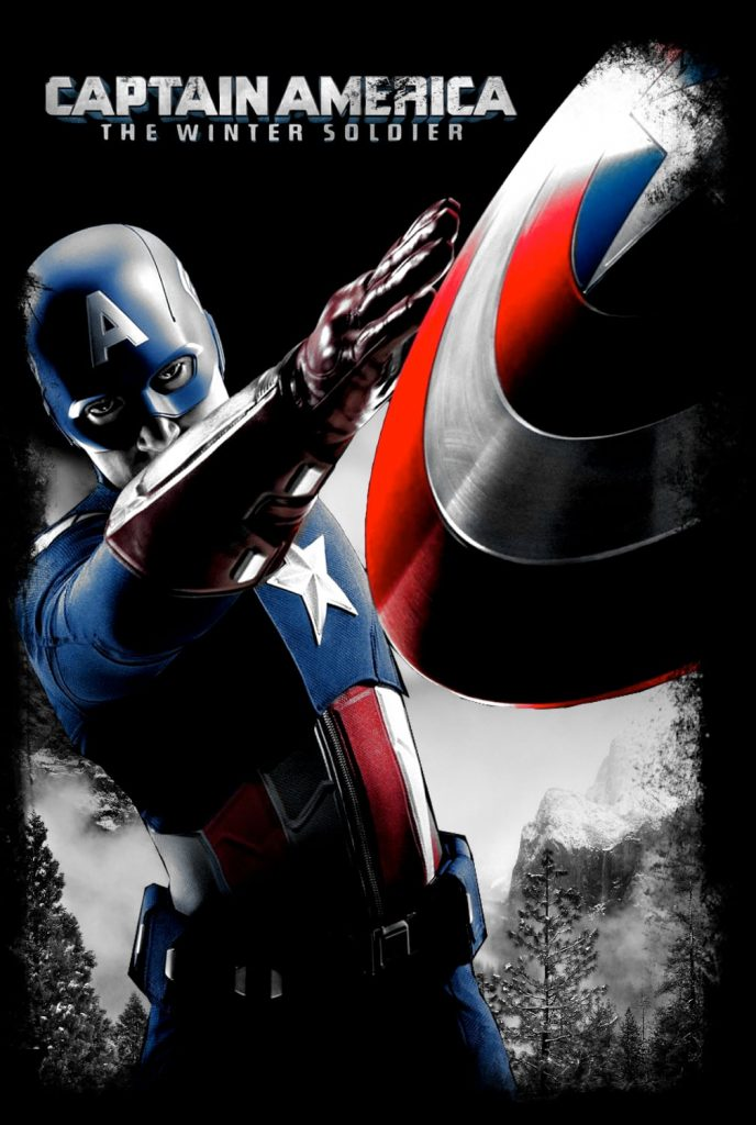 captain america poster high quality HD printable wallpapers captain America throwing shield