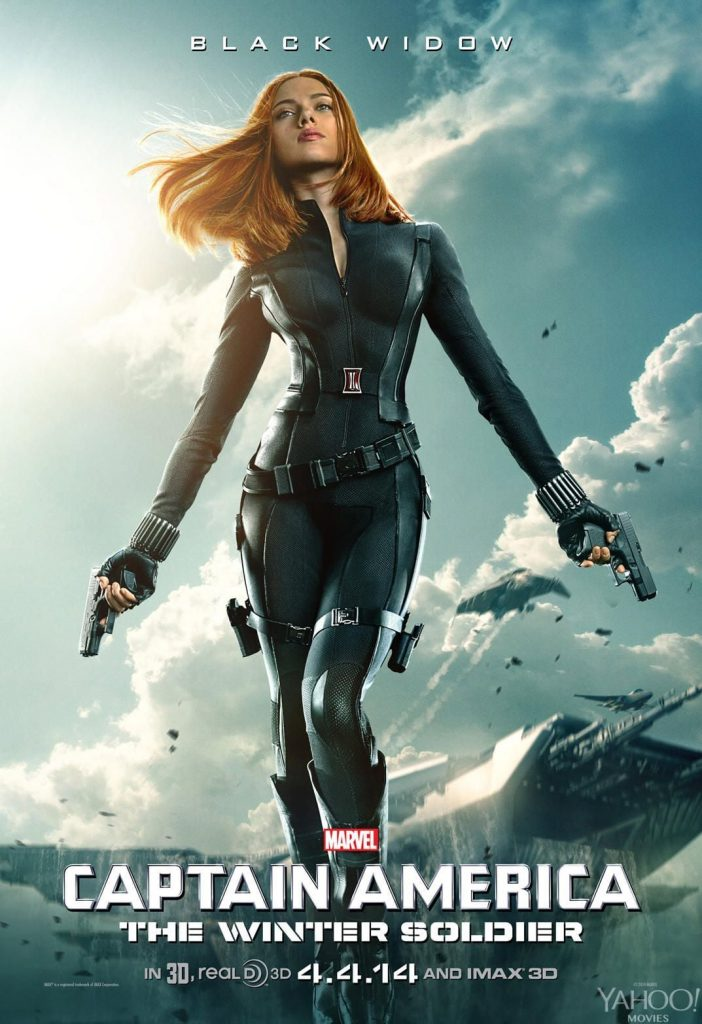 captain america poster high quality HD printable wallpapers 2014 the winter soldier natasha black widow