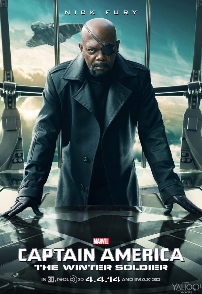 captain america poster high quality HD printable wallpapers 2014 the winter soldier nick fury