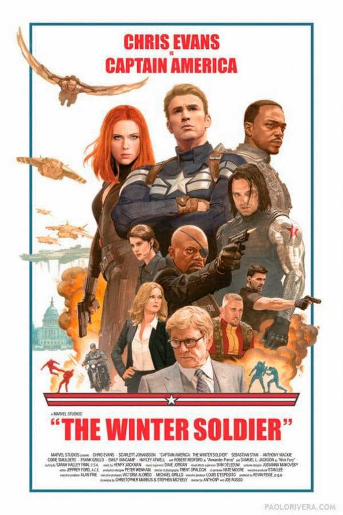 captain america poster high quality HD printable wallpapers 2014 the winter soldier art animated retro poster